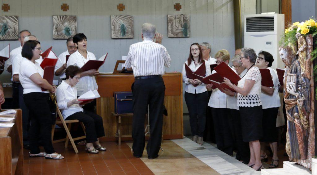 La corale Perosi ha intonato i canti liturgici