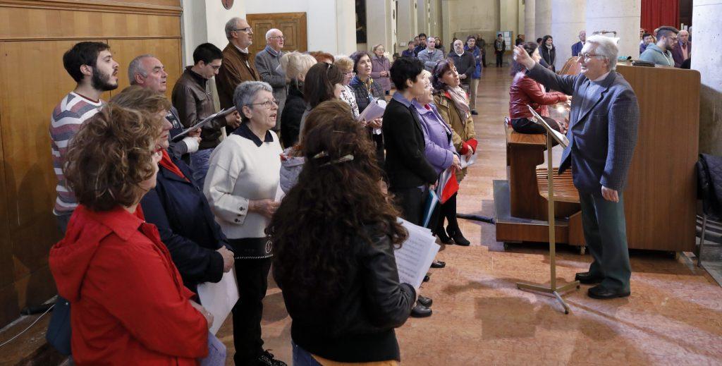 Il Coro San Paolo ha animato la liturgia