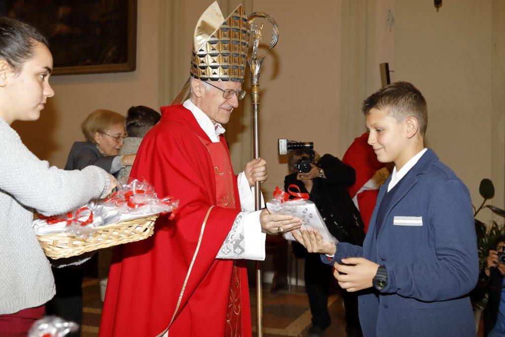 Il ricordo della Cresima dato dal Vescovo