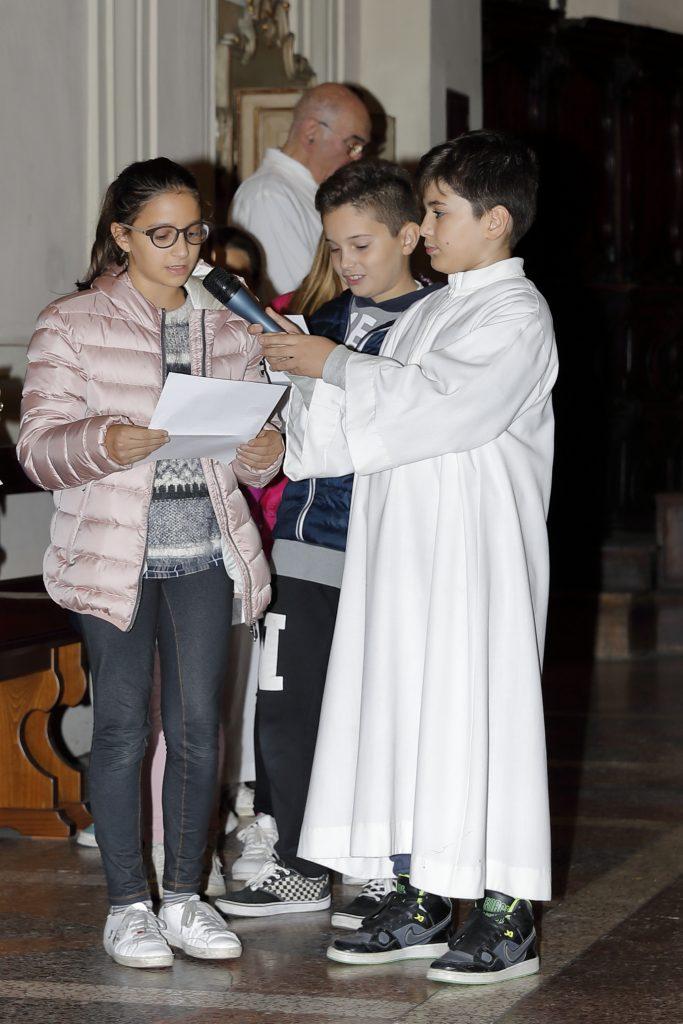 La lettura della preghiera dei fedeli