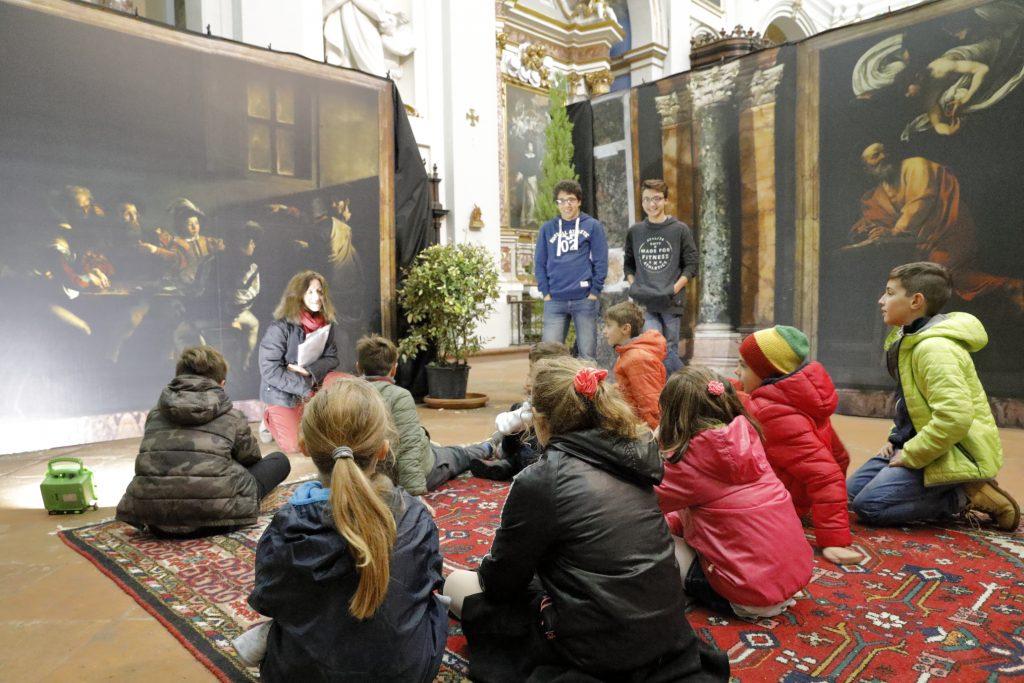 La spiegazione del quadro della chiamata di san Matteo del Caravaggio